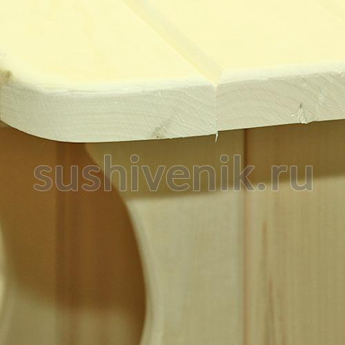 Стол из осины, 180*55 см (осина)