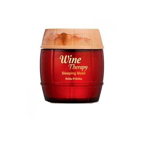 Holika Holika Wine Therapy Sleeping Mask Red Wine Ночная маска с экстрактом красного вина