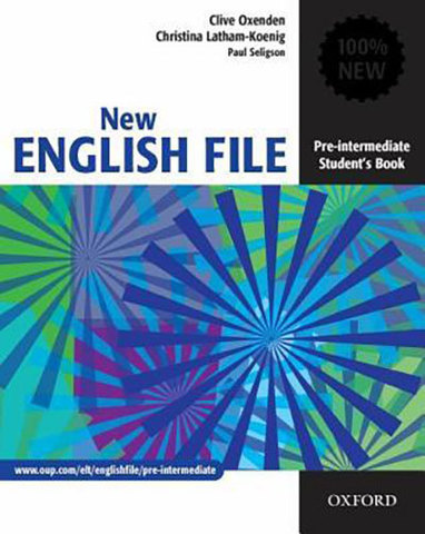 9780194384339 - New English  File Pre-intermediate:  Student's Book