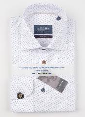 Рубашка Ledub slim fit 0138586-160-630-000