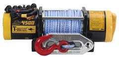 Лебедка электрическая на квадроцикл T-max ATW PRO-4500 синтетический трос