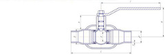 Конструкция LD КШ.Ц.П.080.025.П/П.02 Ду80 полный проход