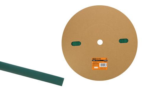 Термоусаживаемая трубка ТУТнг 14/7 зеленая (100 м/ролл) TDM