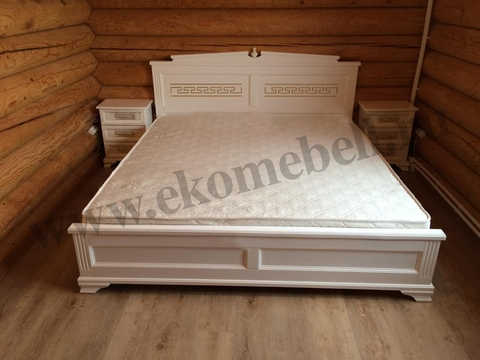 Кровать *Афина* белая