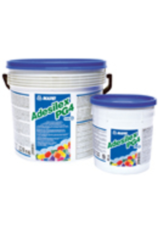 Mapei Adesilex PG4/Мапей Адесилекс ПГ4 двухкомпонентный тиксотропный эпоксидный клей для приклеивания лент Mapeband, Mapeband TPE, лент из ПВХ, Хайпалона (Hypalon), для структурного склеивания бетона