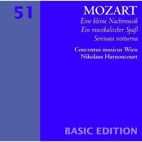 HARNONCOURT, NIKOLAUS: Mozart: Eine Kleine Nachtmusik
