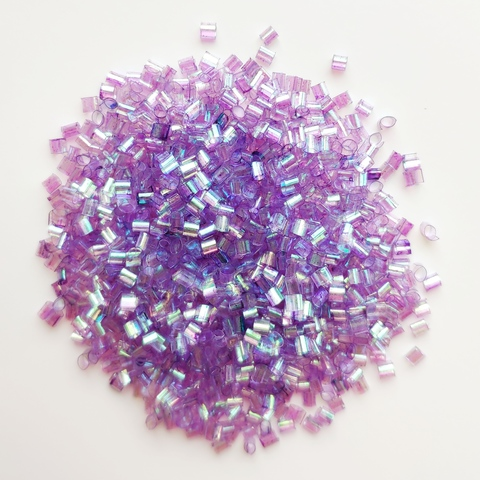 Бингсу Бидс для слайма фиолетовый жемчуг 50 мл