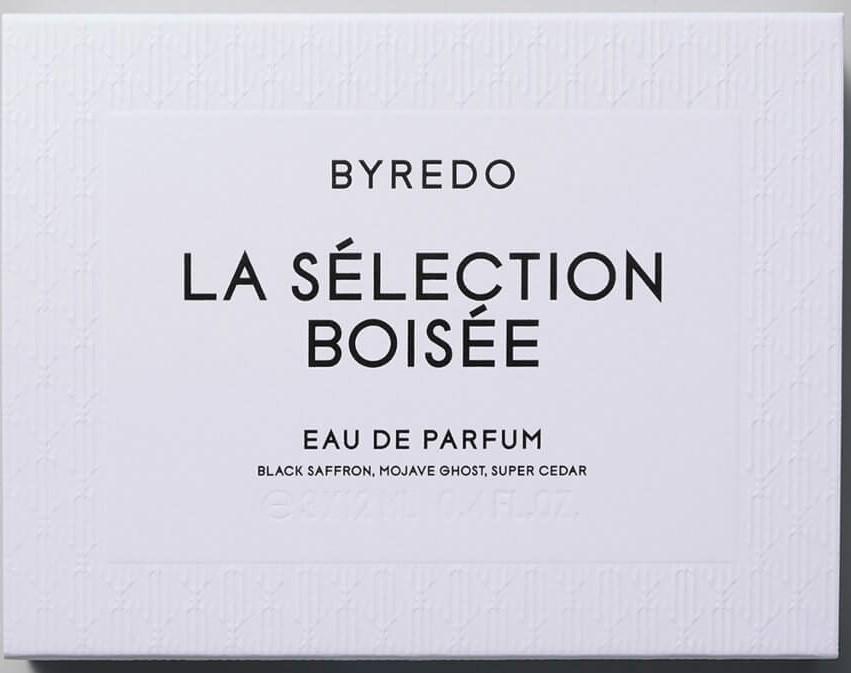 Набор BYREDO La Selection Boisee EDP