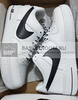 Nike Air Force 1 07 LV8 'NBA/White' (Фото в живую)