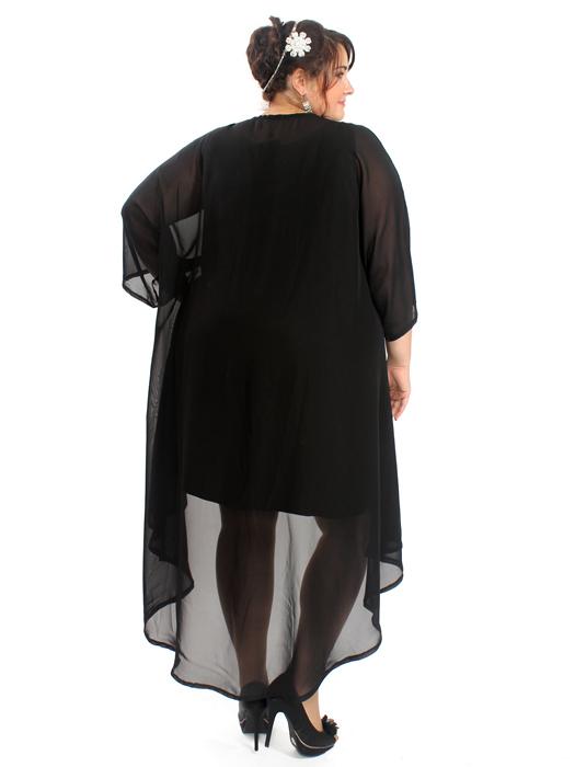 Шифоновое платье Айседора