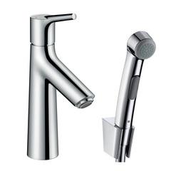Смеситель для раковины с гигиеническим душем Hansgrohe Talis S 72290000 фото