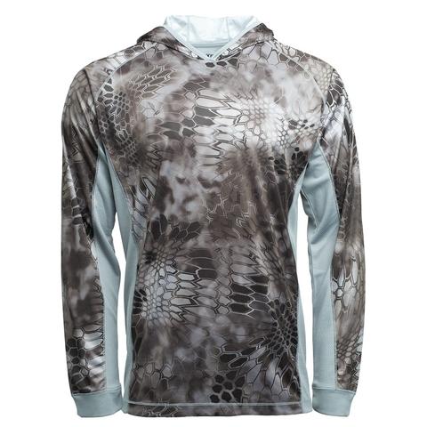 Толстовка с капюшоном KRYPTEK Zephyr hoodie Raid/Wolf grey