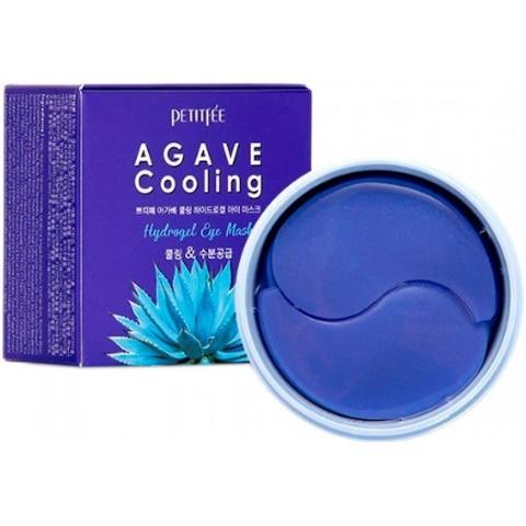 Petitfee Гидрогелевые патчи для глаз с экстрактом агавы Agave Cooling Hydrogel Eye Patch, 60 шт
