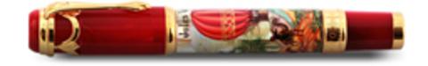 Ручка перьевая Ancora Jules Verne 5 weeks in a Balloon (Жюль Верн 5 недель на воздушном шаре)