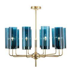 люстра Glass Tube Chandelier 10