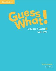 Guess What! Level 6 Teachers Book with DVD