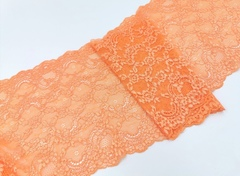Набор 1. Минимальный: для пошива бра без каркасов и трусиков. Оранжевый и черный (Арт: EK-1007), шт