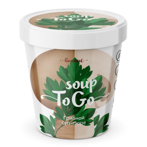 Суп-пюре Грибной, стакан, 30 гр. (Био Терра)