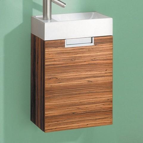 Комплект мебели для ванной Aqwella Leon 40 Venge Ln.01.04  зебрано