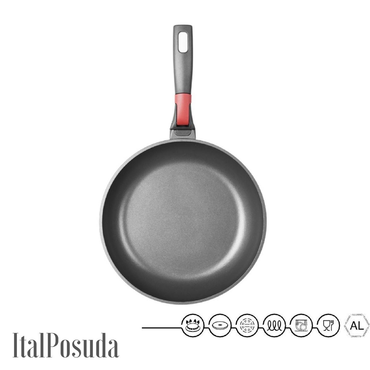 Сковорода со съемной ручкой NADOBA VILMA, 28 см