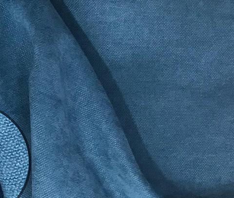 Канвас - ткань для штор - бирюзово синий. Ширина - 280 см. Арт. 174