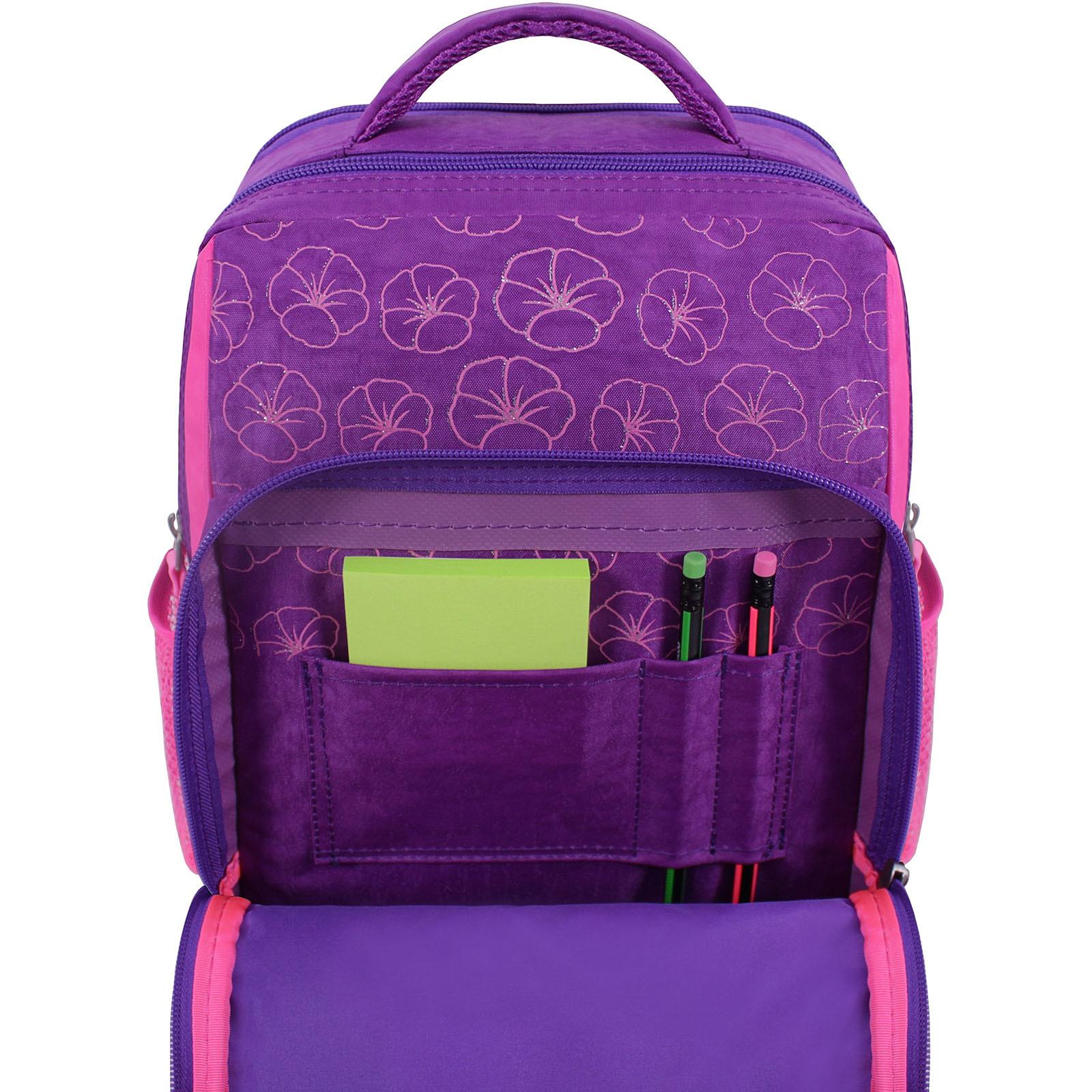 Рюкзак школьный Bagland Школьник 8 л. фиолетовый 498 (0012870) фото 4