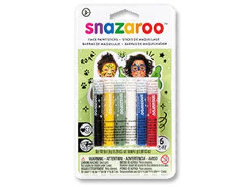 Аквагрим карандаши 6цв х 6,9г/Sn