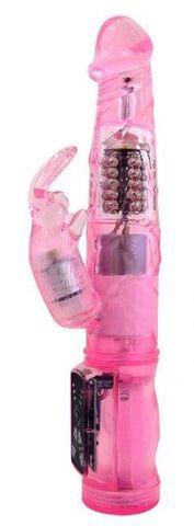 Розовый вибратор-ротатор What You Need - 21,5 см.
