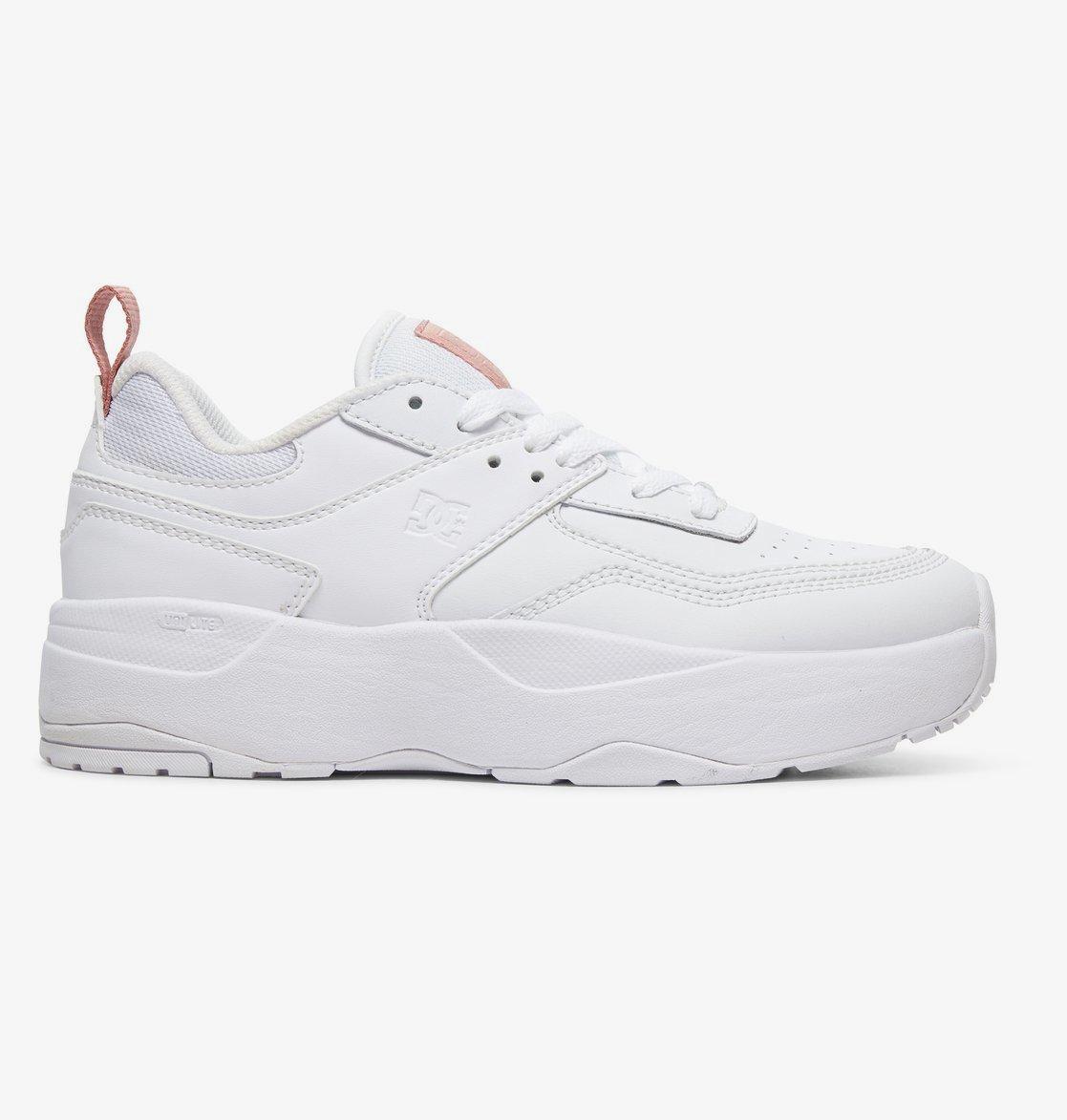 Кеды DC Shoes E.TRIBEKAPLAT J SHOE WWP WHITE/WHITE/PINK