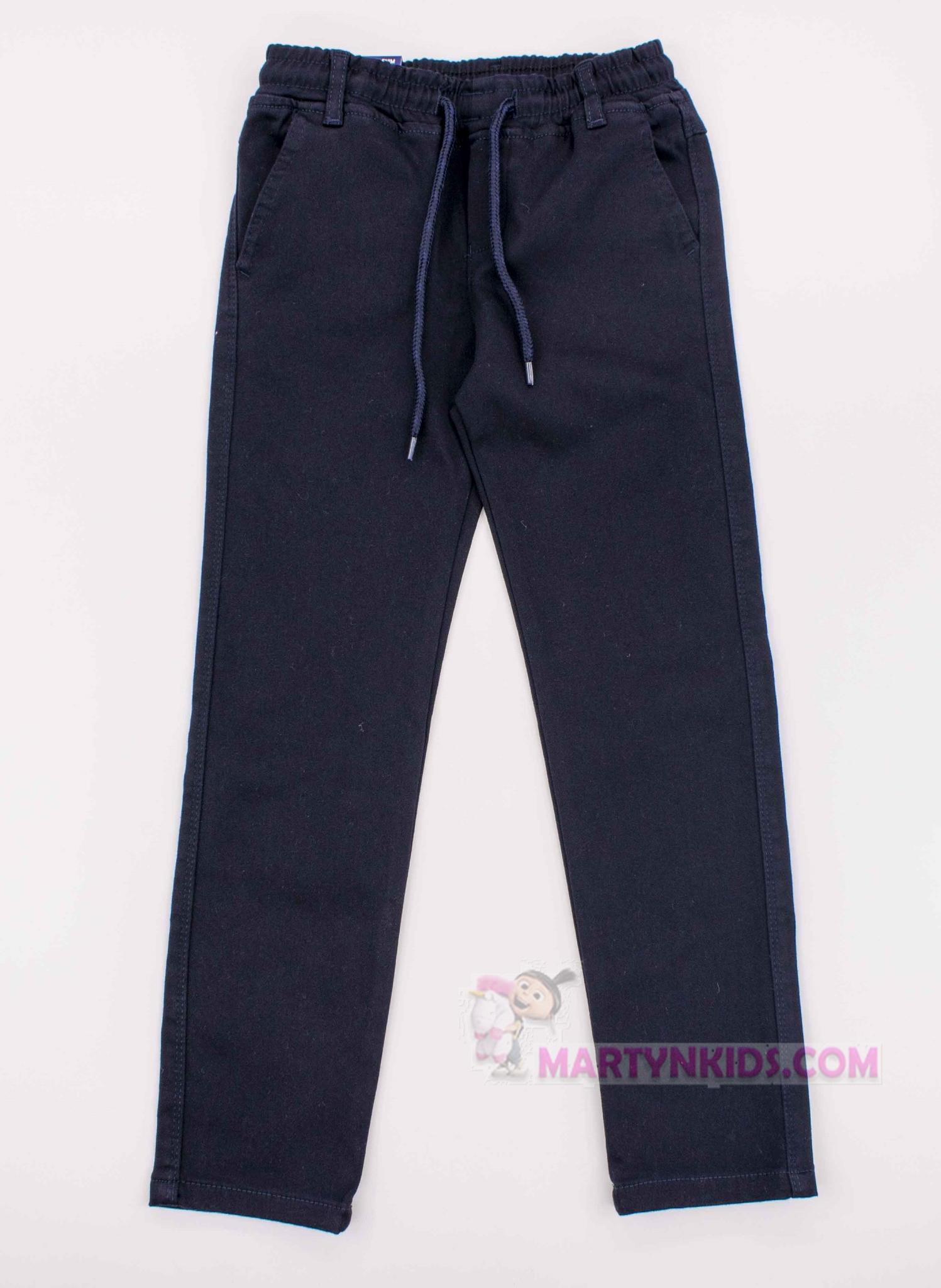 3836 штаны на флисе GOGER школа резинка средние