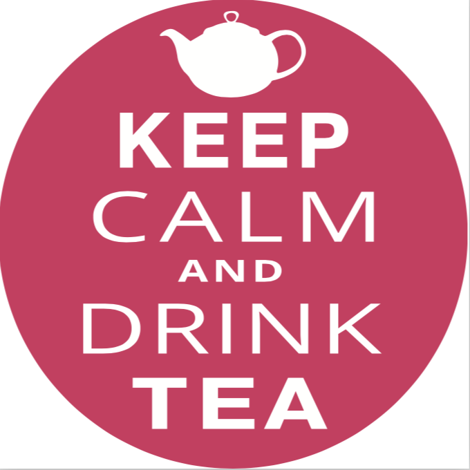 Значок Keep calm drink tea