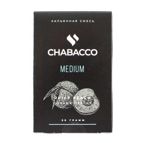 Кальянная смесь Chabacco Medium 50 гр Juicy Peach