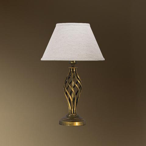 Настольная лампа с абажуром 29-105/13658 ШАЛЕ АБЕЛЬ