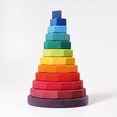 Пирамида многоугольная радужная (Grimms)