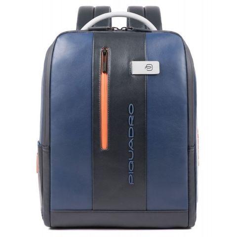 Рюкзак мужской Piquadro Urban (CA4818UB00/BLGR) синий/серый кожа