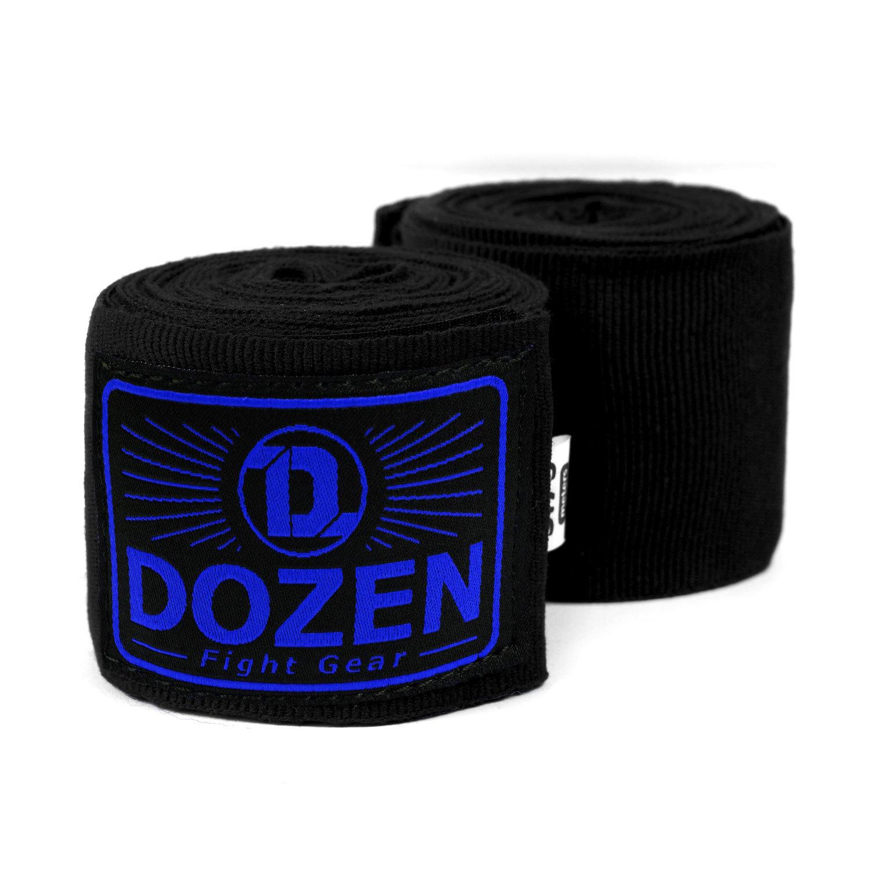 Бинты черно-синие Dozen Monochrome Semi-elastic главный вид