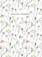 Блокнот в точку: Bullet Journal (полевые цветы)