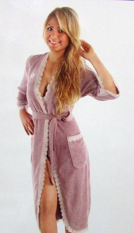 CELYN LONG СЕЛИН ЛОНГ женский махровый халат  Maison Dor Турция