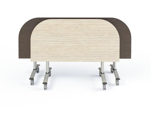 Conneсt стол полукруглый