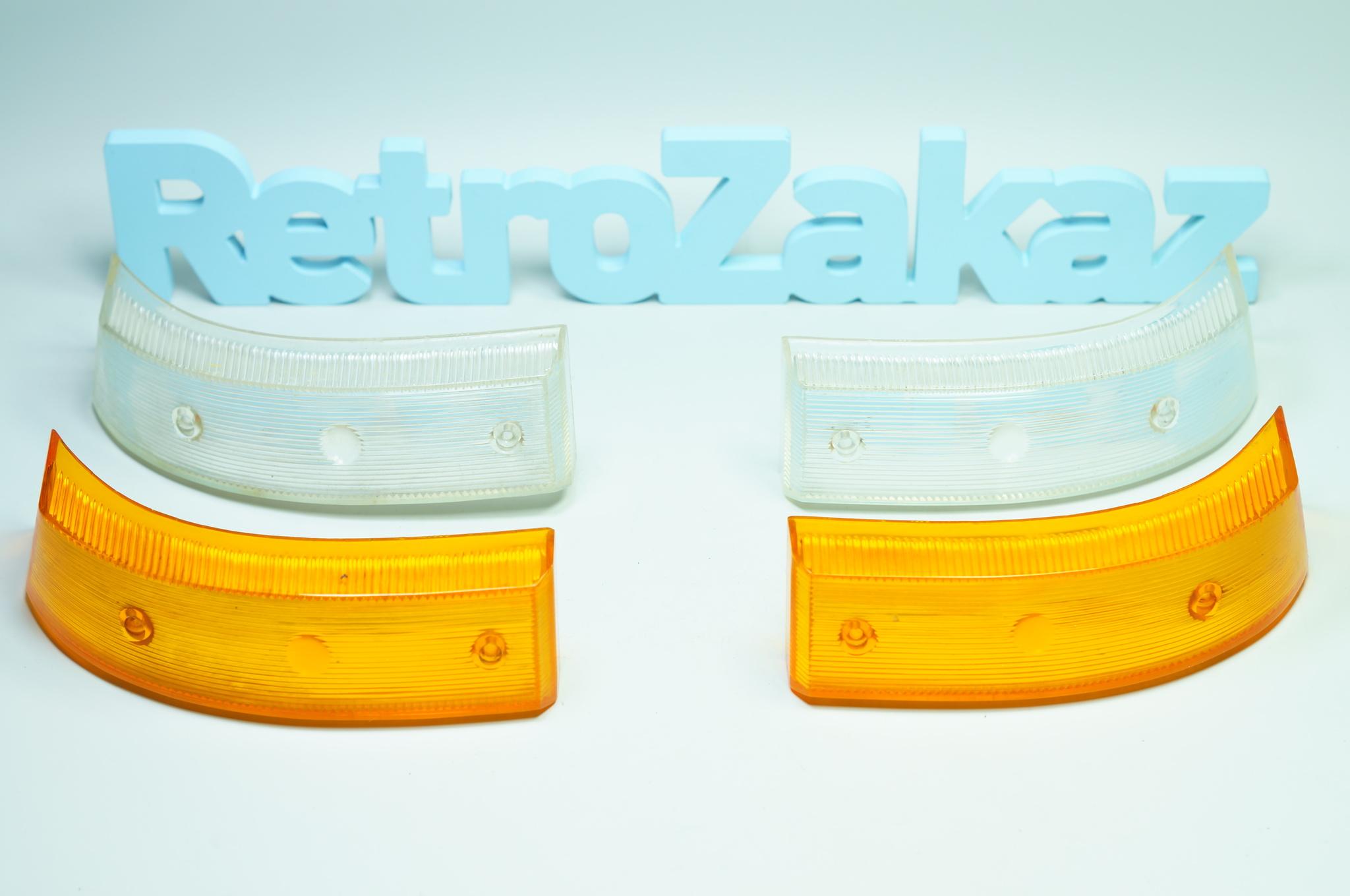 Стекло подфарников Газ 21 3 серии