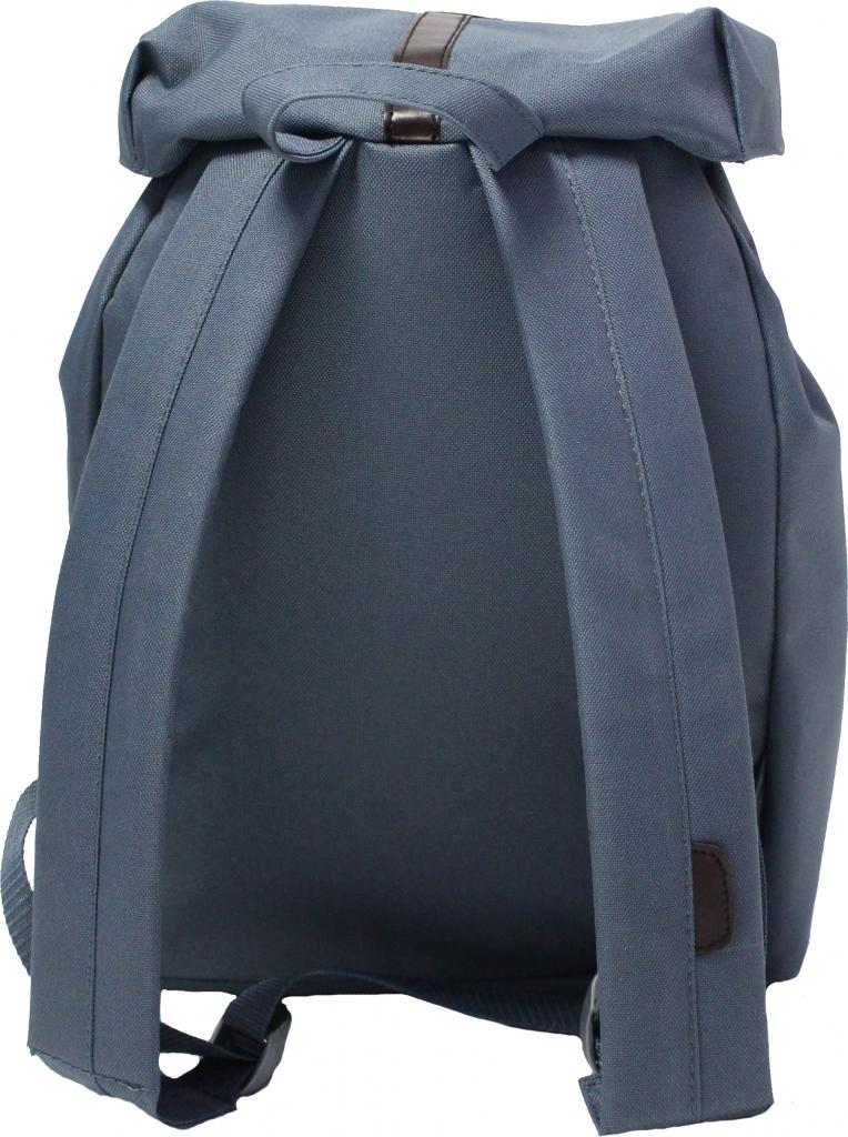 Рюкзак Bagland Рюкзак с кожзамом 14 л. Темно серый (0010366)
