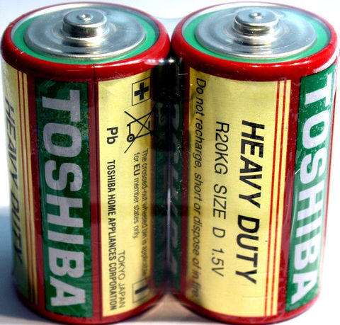 Батарейки Toshiba R20, D (2/24)