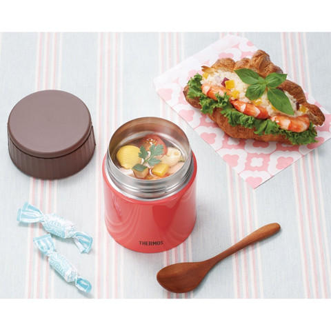 Термос для еды Thermos JBQ-400-PCH (0,4 литра), розовый
