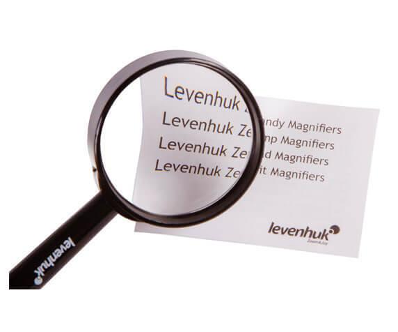 Лупа ручная Levenhuk Zeno Handy ZH3 - для чтения, изучения карт и схем, работы с мелкими деталями