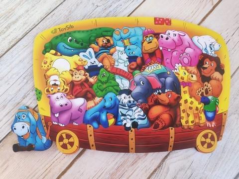 Пазл-головоломка Цирк, ToySib, арт. 01085