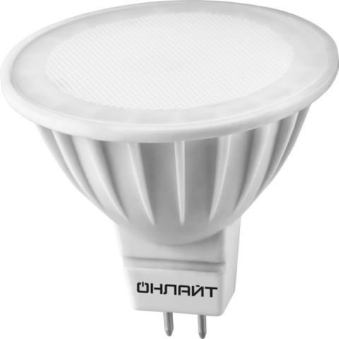 Лампа светодиодная 10Вт MR16 3000К GU5.3