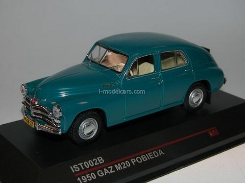 GAZ-M20 Pobieda blue-green 1950 IST002B IST Models 1:43