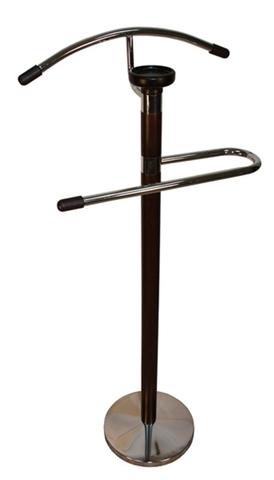 Вешалка для одежды напольная костюмная деревянная СН 4103-W орех