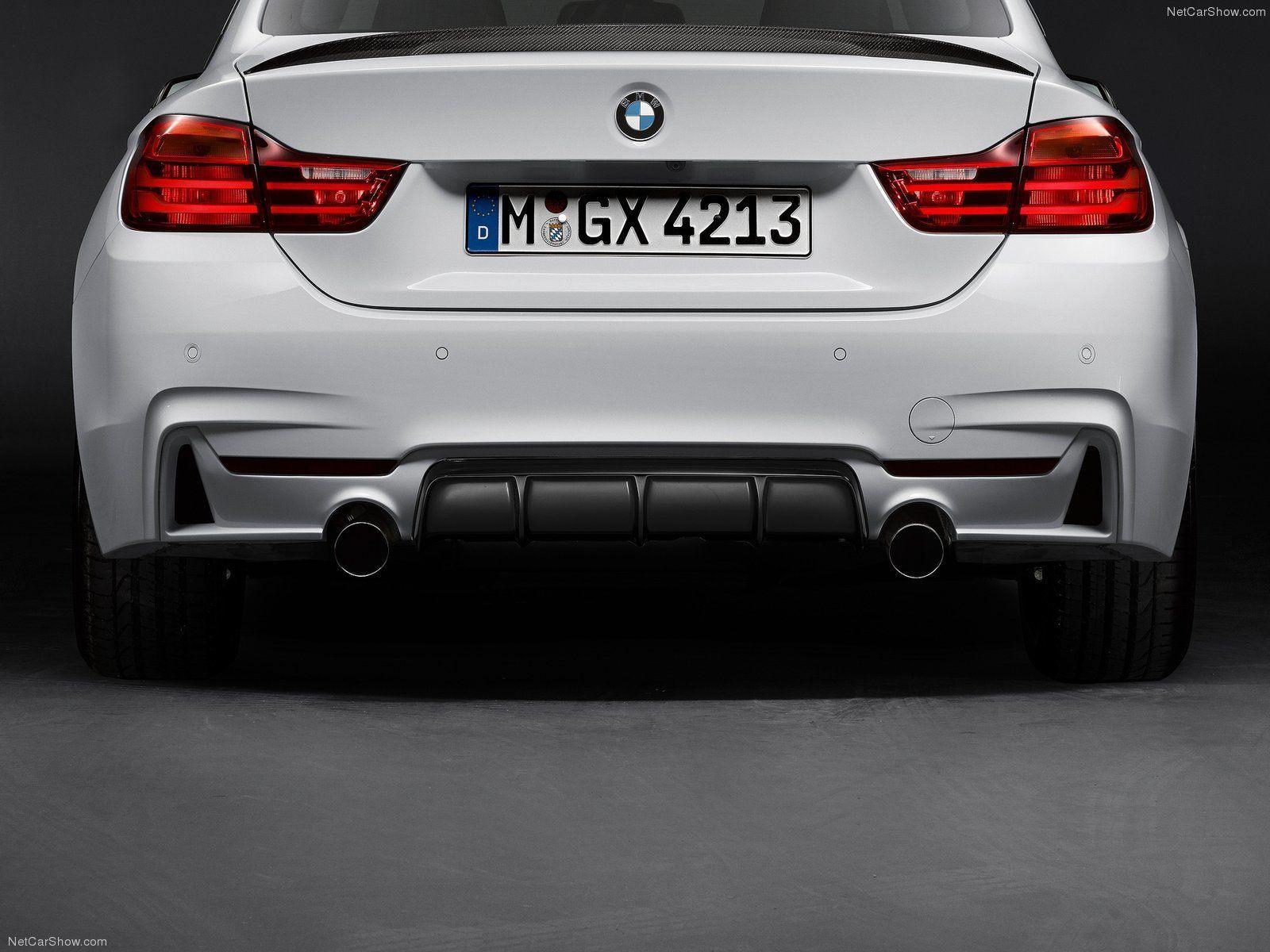 Карбоновый диффузор заднего бампера Performance Style для BMW 4er