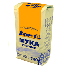 Гарнец, Мука рисовая, 500гр